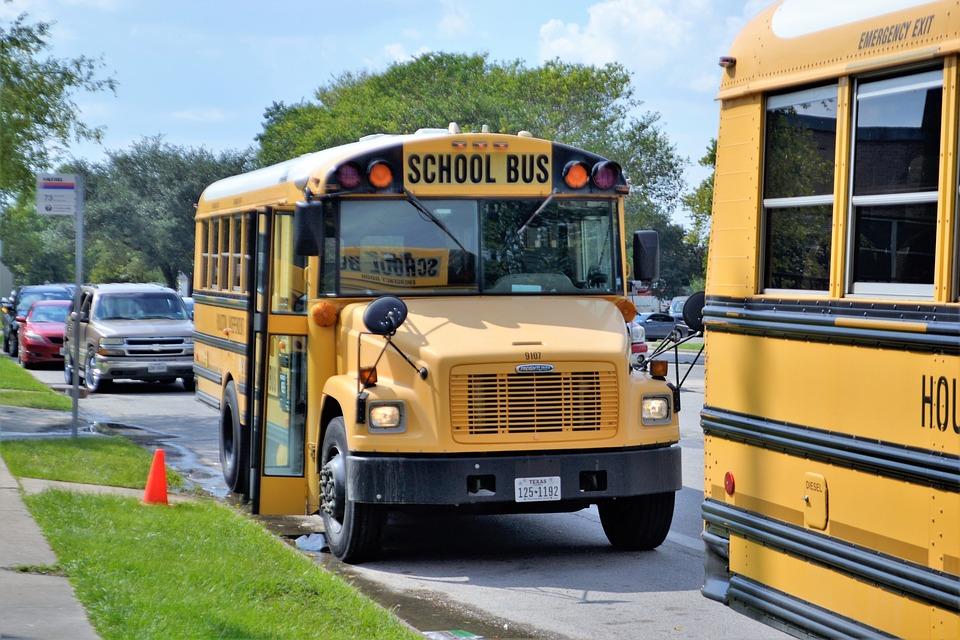 School Buses, Houston Texas, Teachers, Students