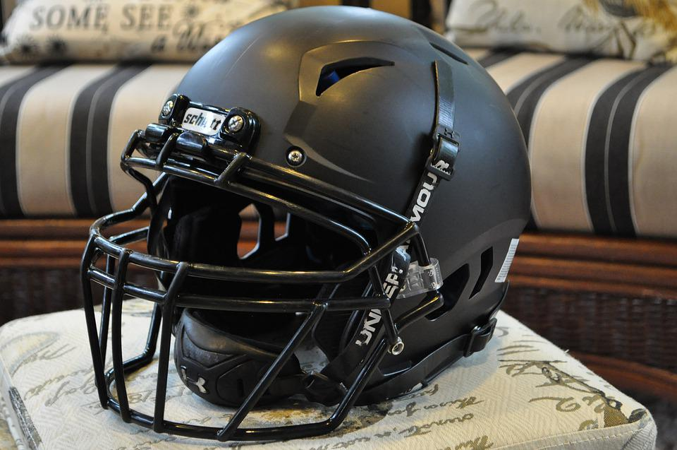 Football, Helmet, Sport, Team, Players, Field