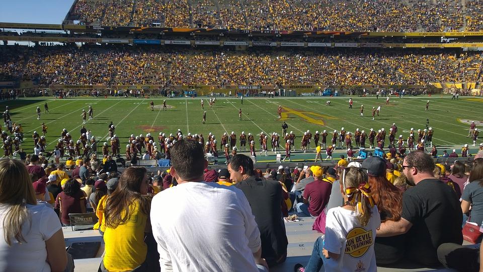 Us Football, Football, University, Team, Sport