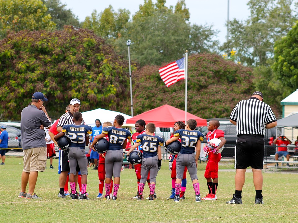 Youth Football, Pee Wee Football, Teammates