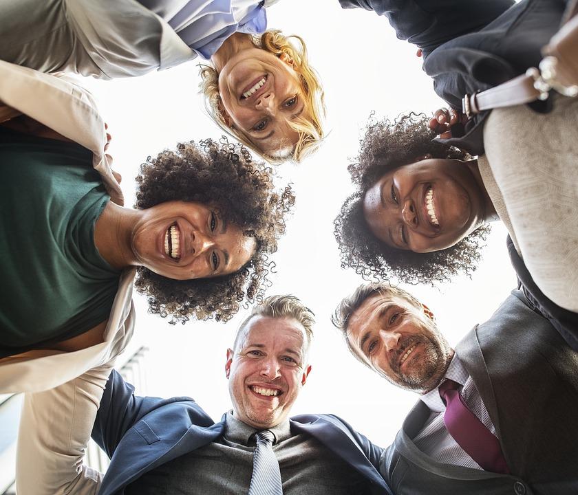 Squad, Man, Group, Group Together, Teamwork