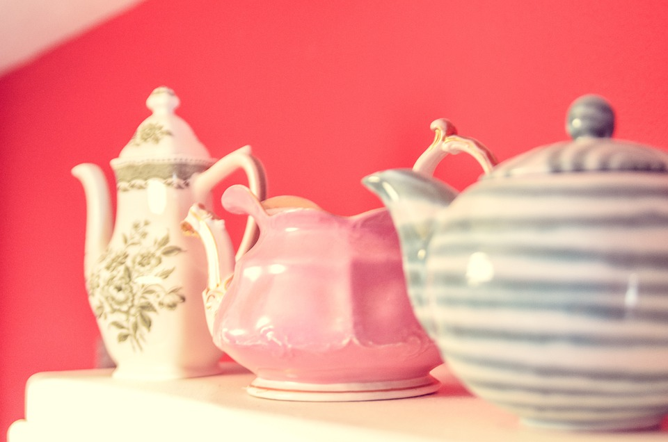 Teapot, Ceramic, Jugs, Retro, Porcelain, Fragile, Old
