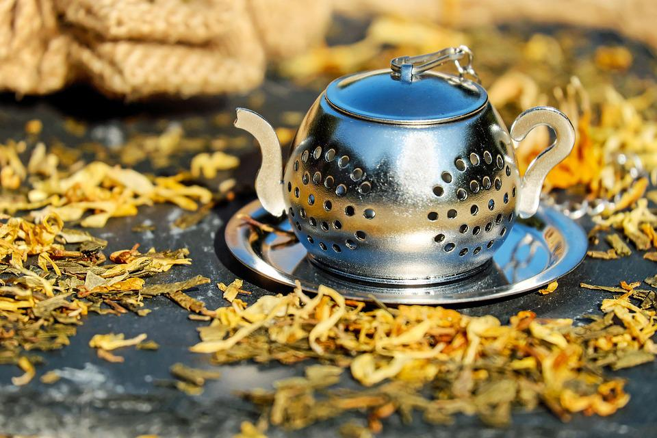 Teapot, Tee, Pot, Stainless Steel, Sieve, Tea