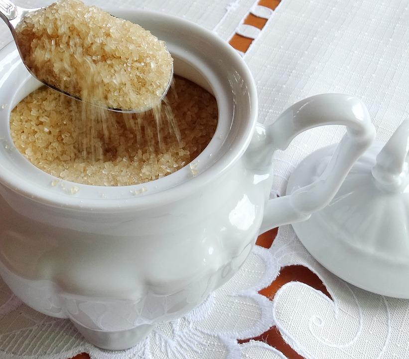 Sugar, Teapot, Sweet, Cane, Brown, To Powder Brains