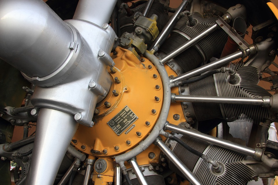 Turkey, Istanbul, Technical, Museum, Radial, Engine