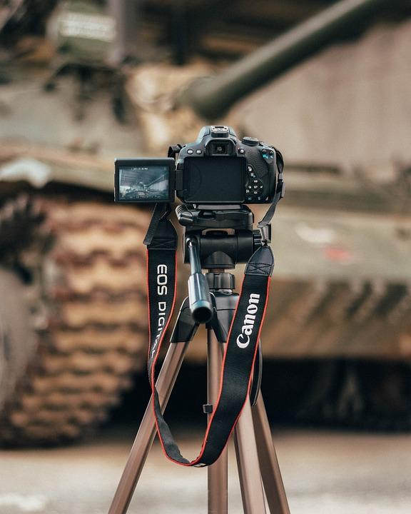 Tank, Tanks, Technique, Tripod, Camera, Life, War