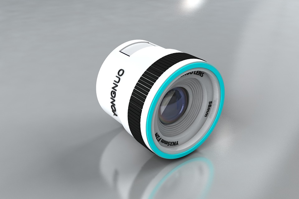 3d Modeling, Technology, Lens