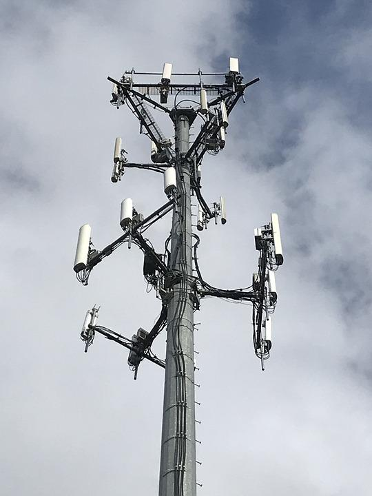 Sky, Tower, Technology, Antenna, Microwave Transmitter