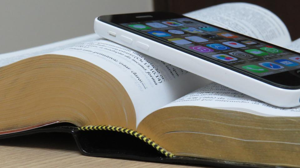 Bible, Cellular, Technology, Holy Bible, Christian