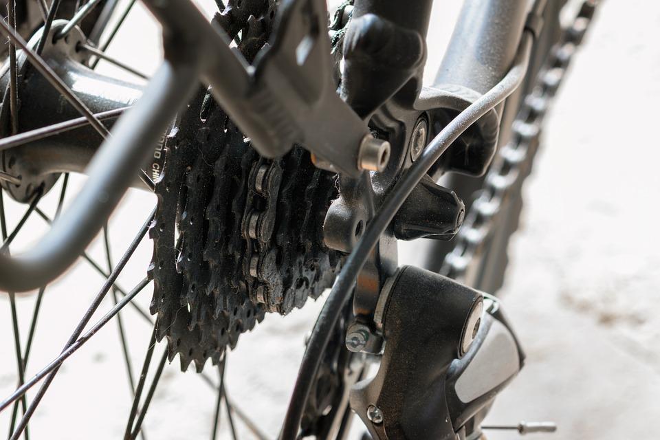Gears, Bike, Bicycle Chain, Gear, Spokes, Technology