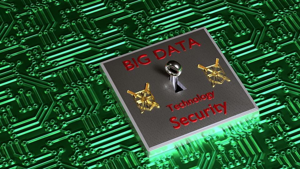 Bigdata, Security, Technology, Digital, 3d, Blender