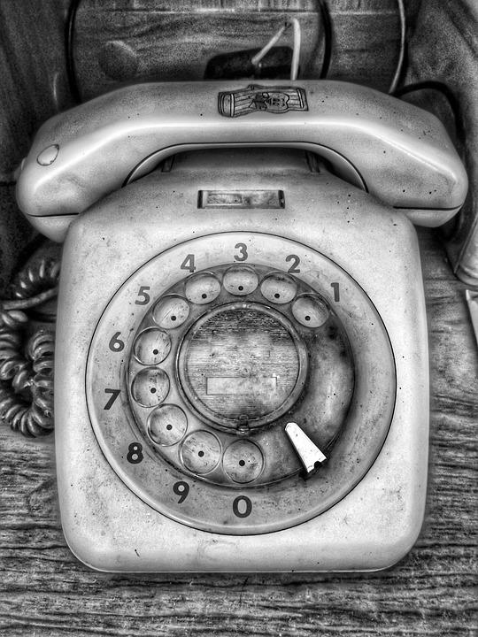 Color, Black, White, Technology, Telephone, Number