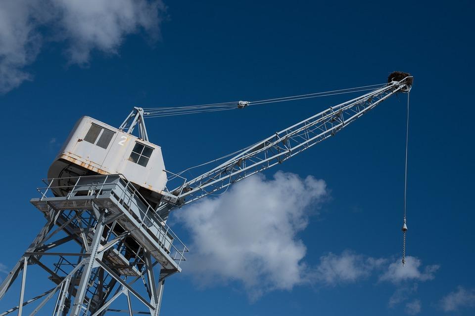 Crane, Sky, Storchennest, Technology, Museum, Industry