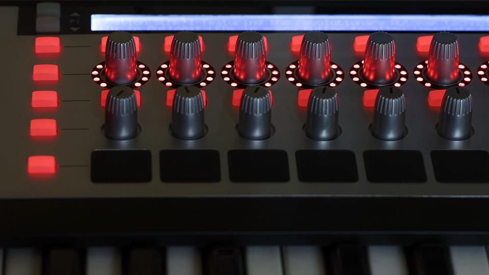Keyboard, Electronic, Synthesizer, Technology, Sound