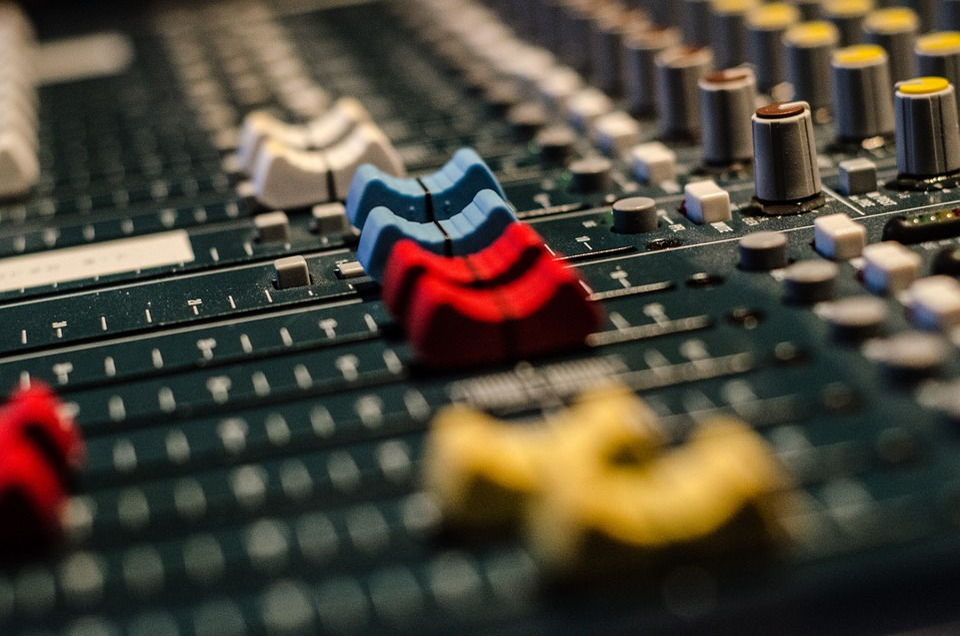 Audio, Mixer, Equipment, Sound, Technology
