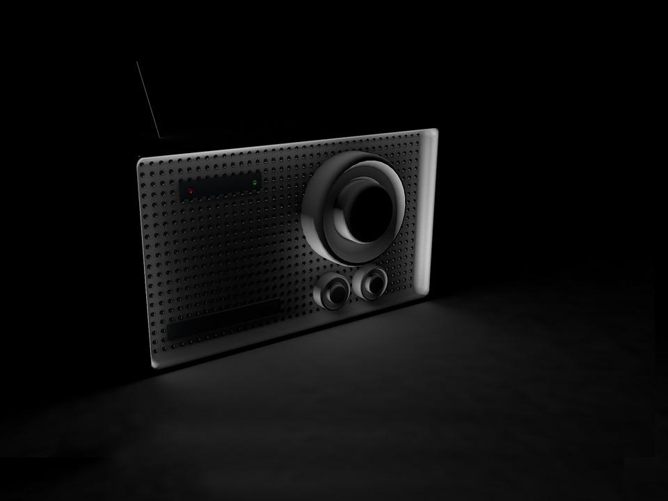 Radio, 3d, Technology, Music, Electronics, Screen