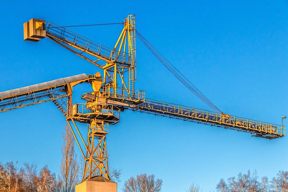 Promotion, Excavators, Technology, Industry, Metal