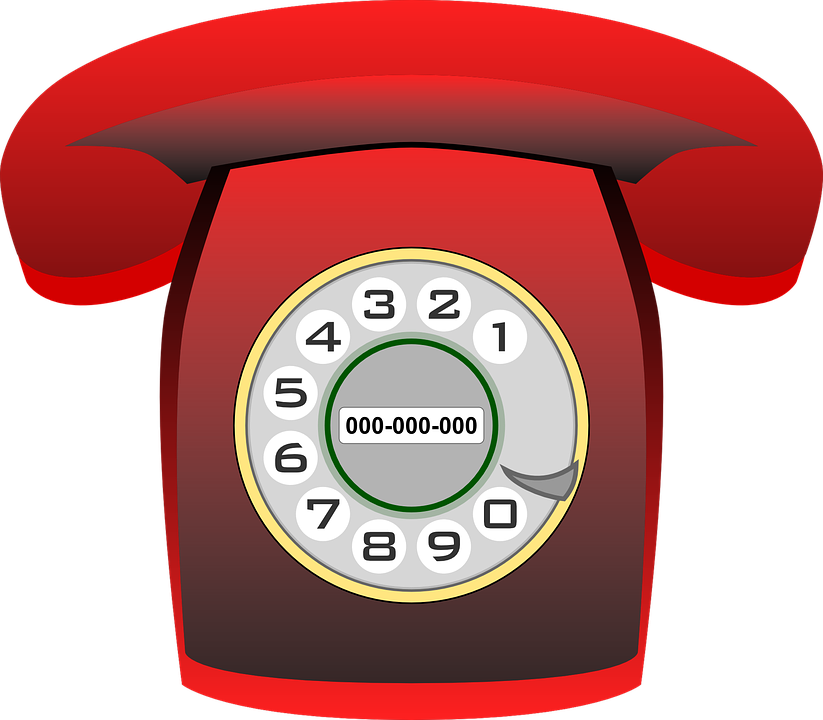 Phone, Telephone, Communication, Technology, Old, Red