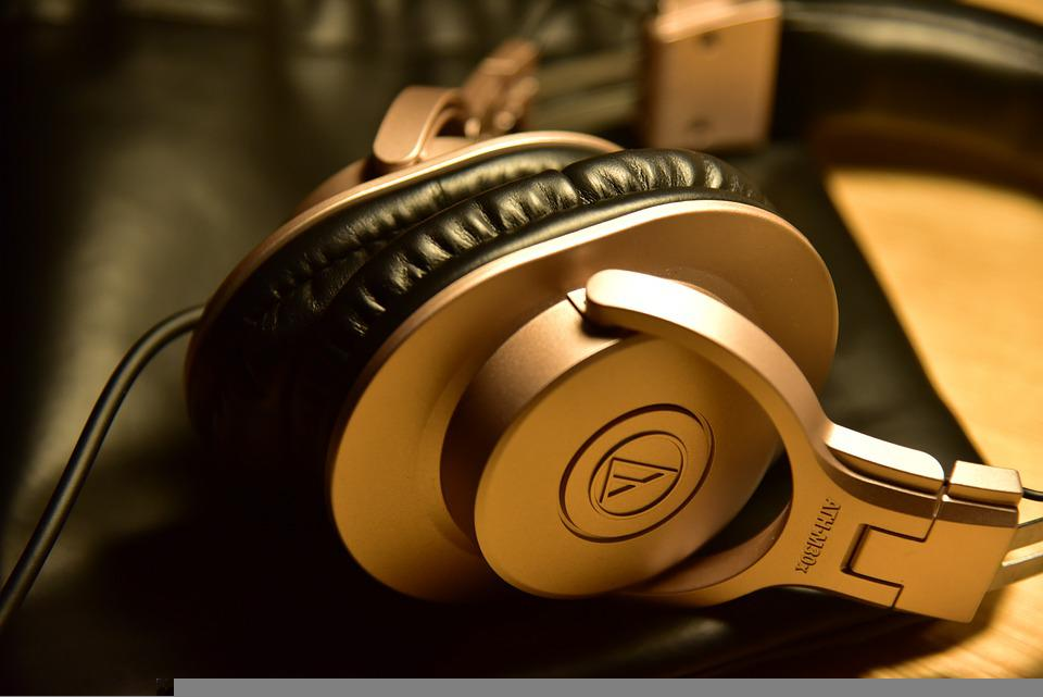 Headphones, Music, Sound, Technology, Device