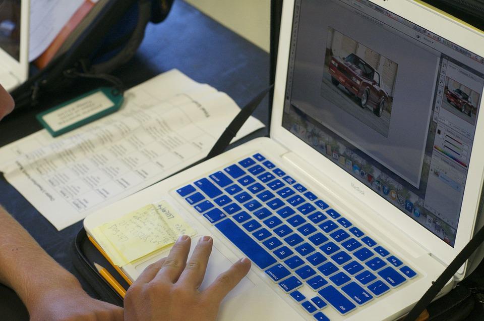 Laptop, Technology, Students, Macbook