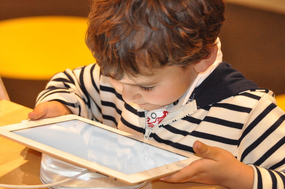 Child, Tablet, Technology, Computer