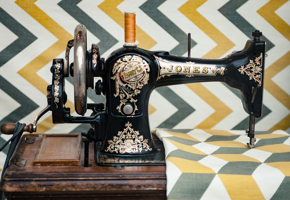 Sewing, Machine, Technology, Vintage, Old, Things
