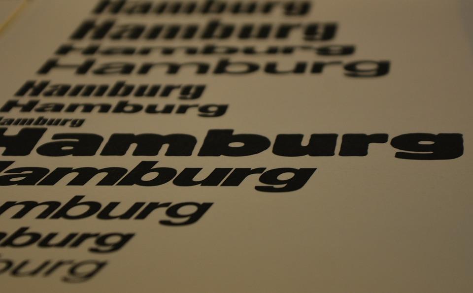 Technology, Printing, Typology, Set, Serifs