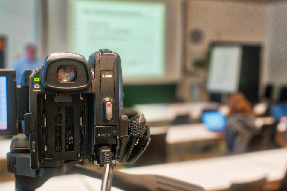 Technology, Video, Lecture Hall, Video Recording