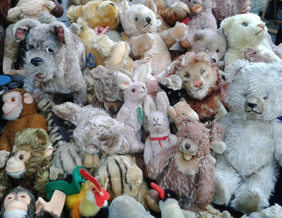 Stuffed Animals, Toys, Children Toys, Teddy Bear