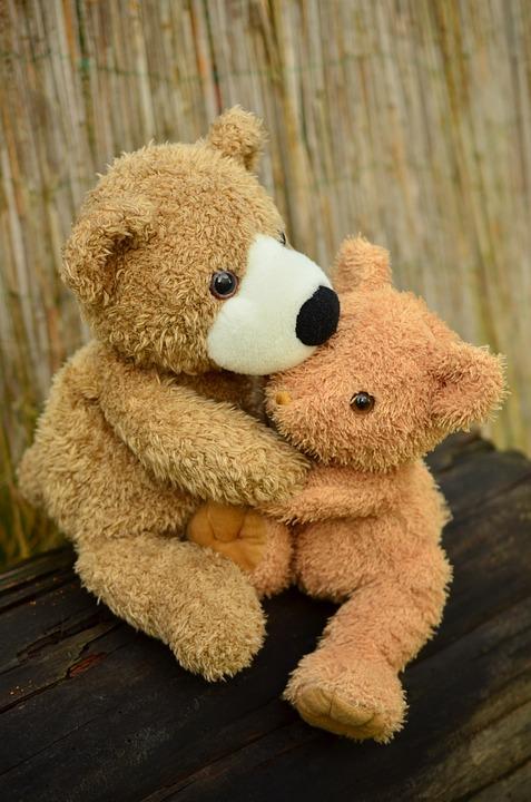 Teddy, Teddy Bear, Snuggle, Friendship, Love, Soft Toy