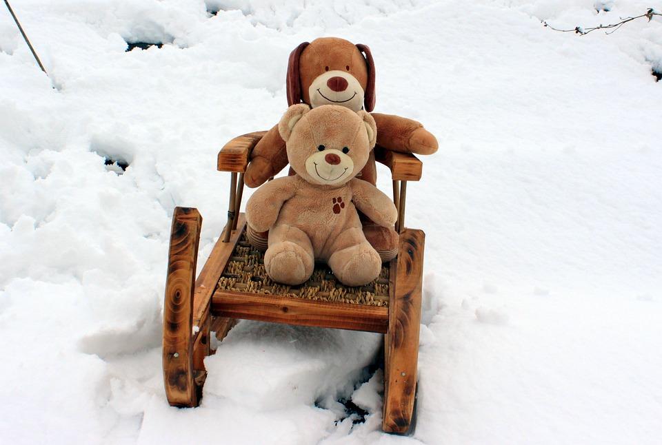 Teddy Bears, Embrace, Stuffed Animal, Soft Toy