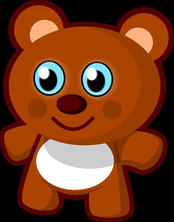 Teddy Bear Toy Cute Brown