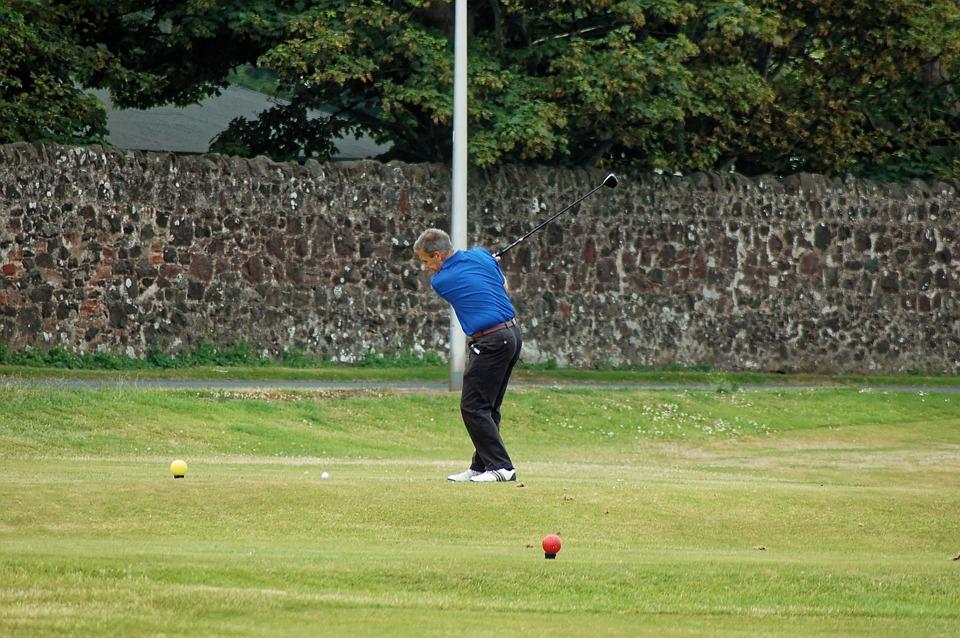 Golfer, Tee Shot, Tee, Golf Swing, Golf Course, Golf