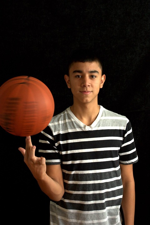Basketball, Young, Teenager, Ball, Lifestyle, Person