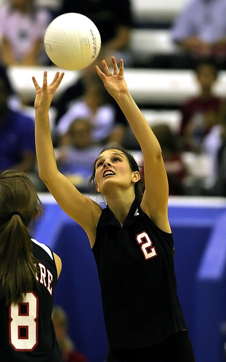 Volleyball, Teenager, Girls Volleyball, High School