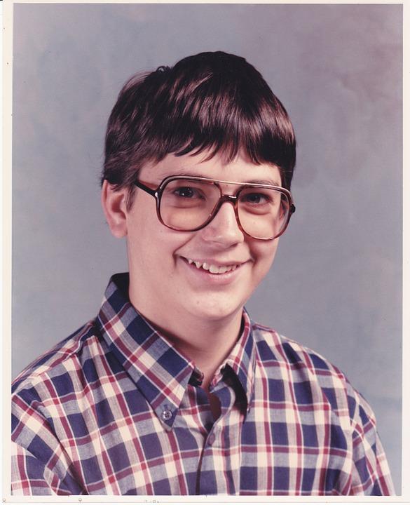 Teenager, Boy, Spectacles, Glasses, Nerd