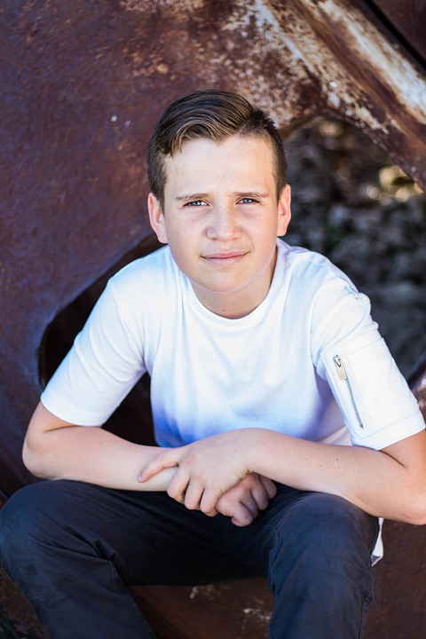 Male teen photo