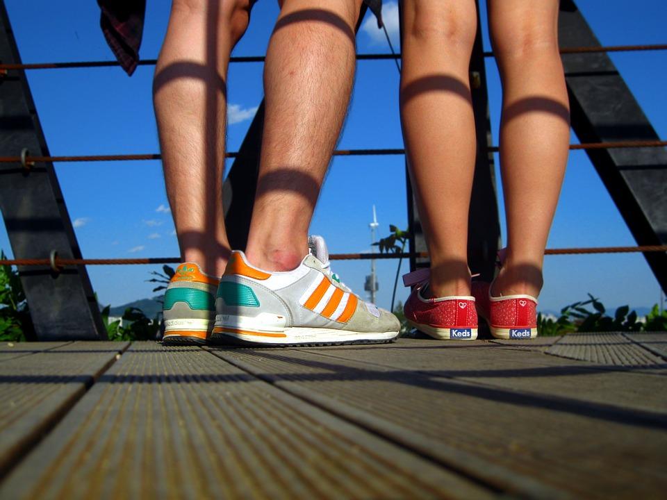 Feet, Shoes, Sneakers, Legs, Teenagers, Love