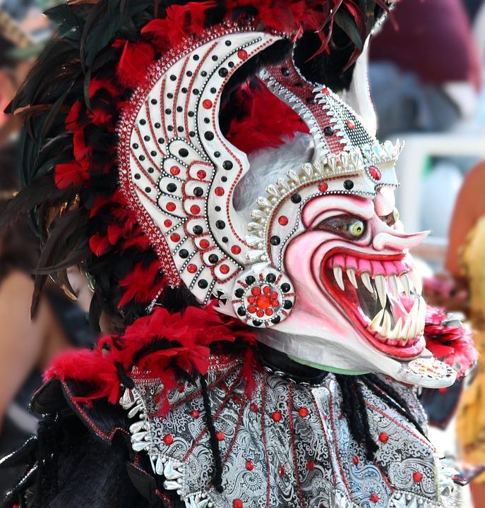 Mask, Scary Mask, Teeth, Horror, Masquerade, Carnival