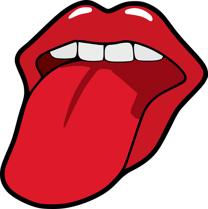 Mouth, Open, Female, Tongue, Teeth, Closeup, Expression