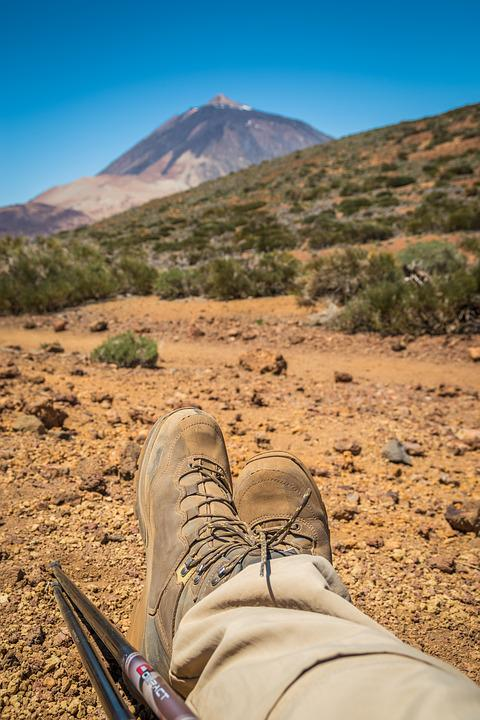 Teide National Park, Hiking, Rest, Pico Del Teide