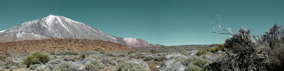 Panoramic, Teide, Canary Islands, Nature