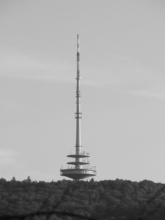 Telecommunication Tower, Stuttgart, Woman's Head, Tower