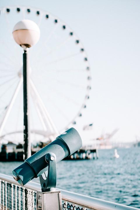 Telescope, Seattle, Washington, Ferris Wheel
