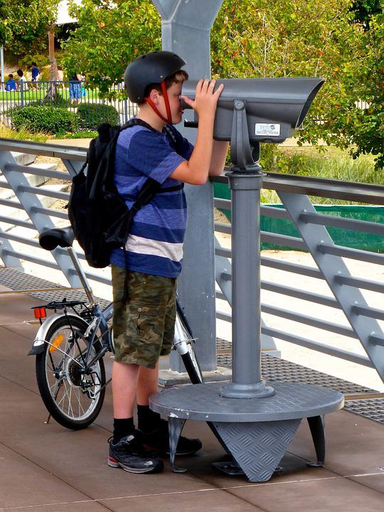 Telescope, View, Surveillance, Binocular, Observe