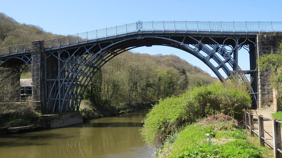 Ironbridge, Shropshire, England, Telford, Revolution