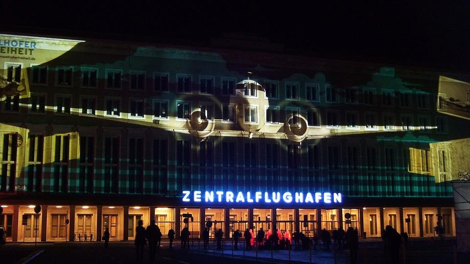 Berlin, Tempelhof, Aircraft, Flyer, Central Airport