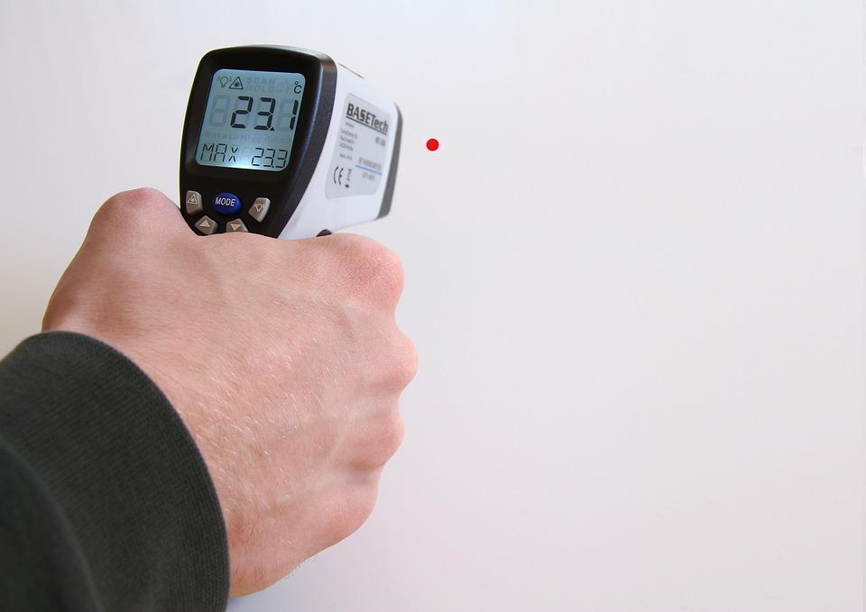 Technology, Temperature, Temperature Display, Heat