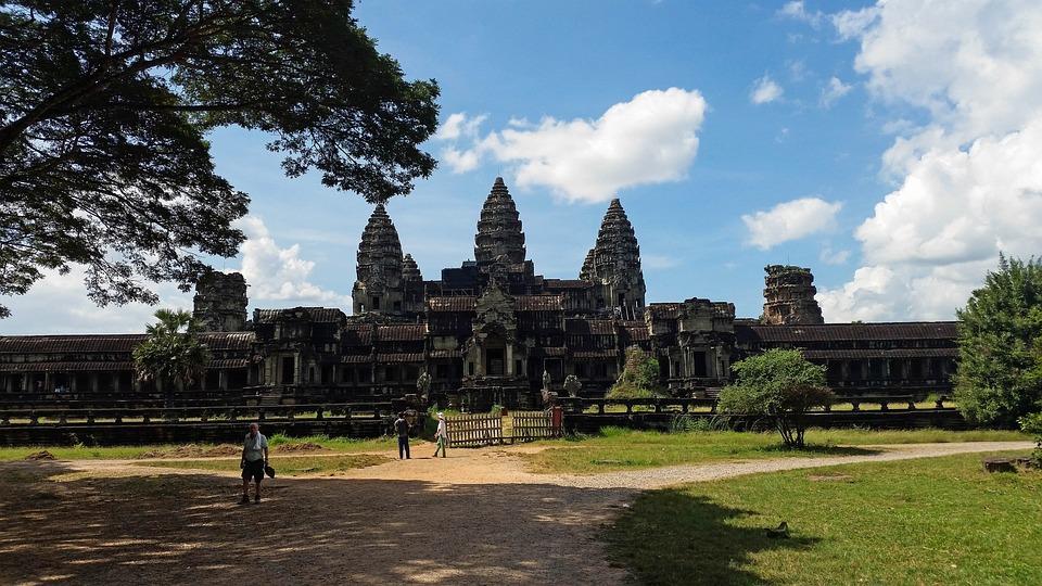 Cambodia, Angkor Wat, Temple, History, Asia