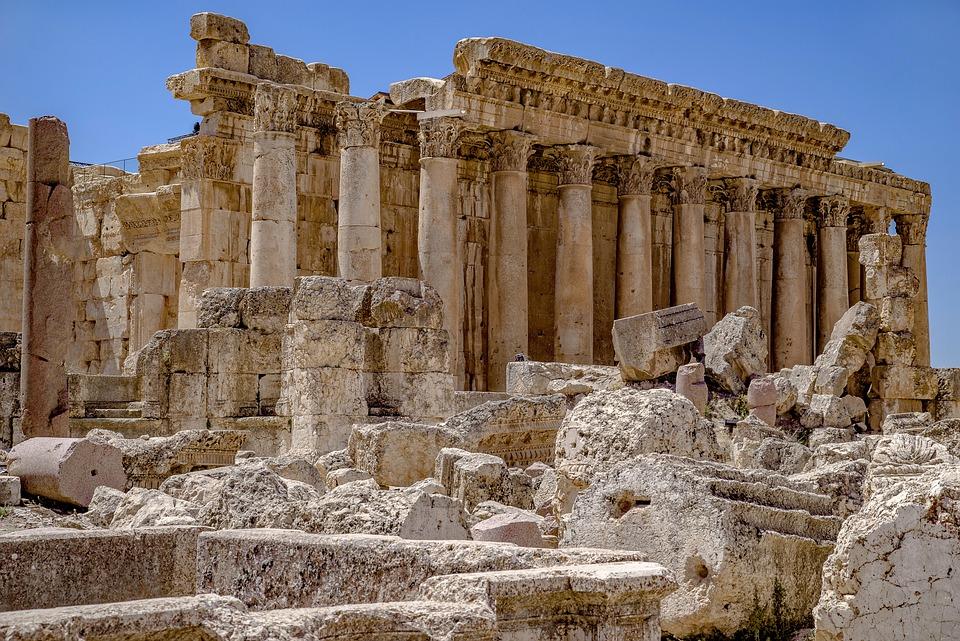 Temple, Jupiter, Roman, Antique, Column, Architecture